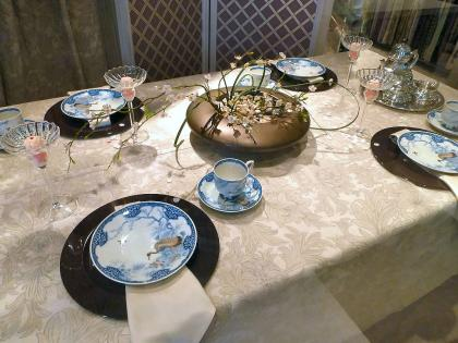モリス商会150周年記念 テーブルコーディネート展