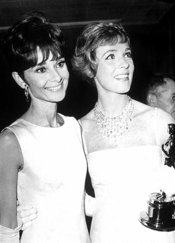 182Audrey Hepburn Julie Andrews