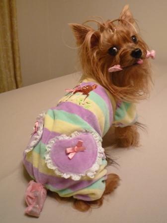 パジャマだね