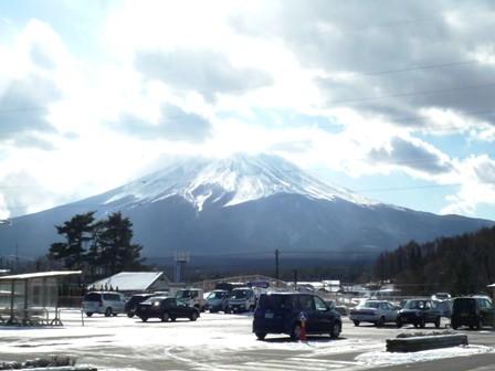 富士河口湖町から