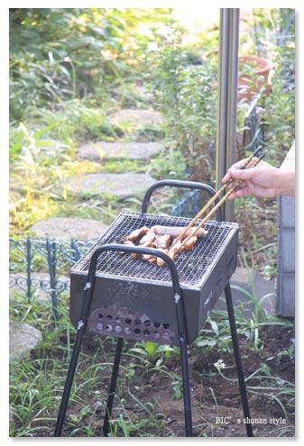 お庭BBQ