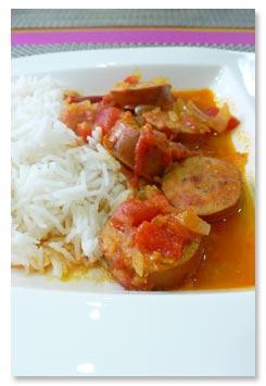 レユニオン島の料理,ソーセージのルガイユ
