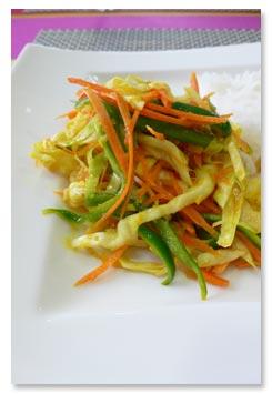 レユニオン島の料理,野菜のアシャール