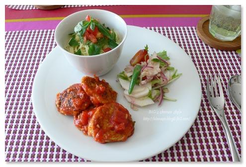野菜と雑穀のイタリアン