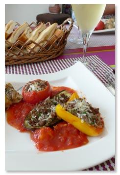 ギリシャ料理,イエミスタ