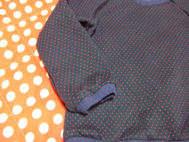 ラグランプルオーバー?袖