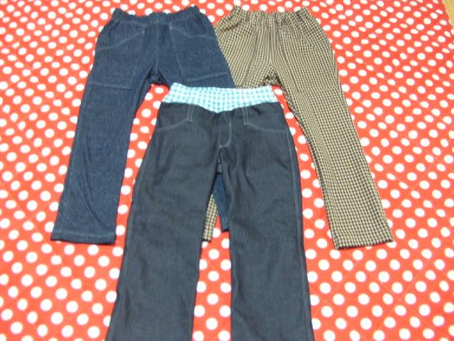 息子のパンツ 3本