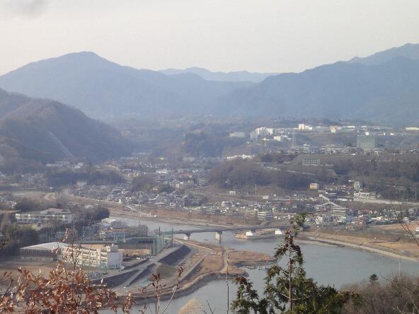 上野原方面