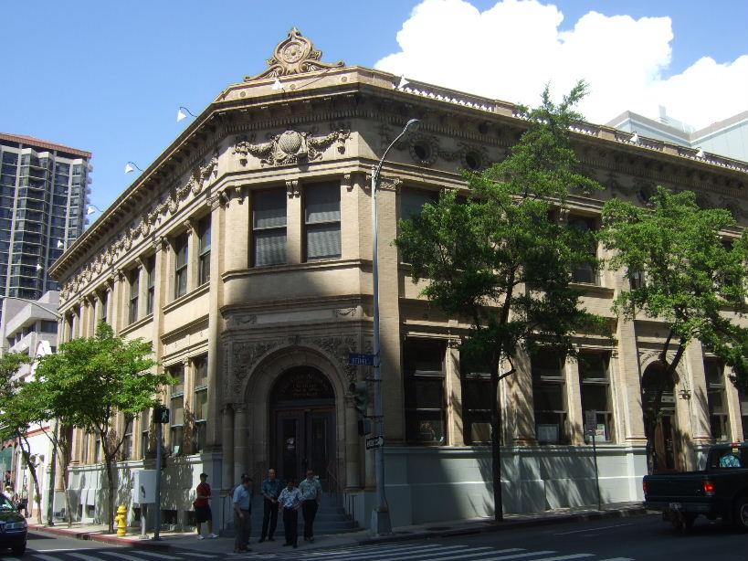 ハワイ横浜正金銀行全景