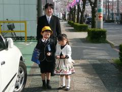 2010・4・6丈竜入学式後