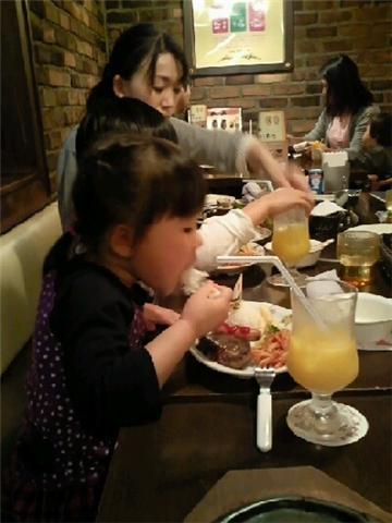 2010・5・23じいじの誕生日にて