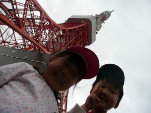 2010・5・30東京タワー前にて