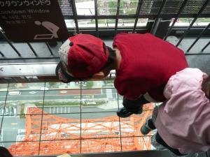 2010・5・30東京タワー展望台にて