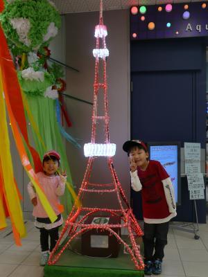 2010・5・30ミニ東京タワー前にて