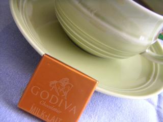 ゴディバのチョコ
