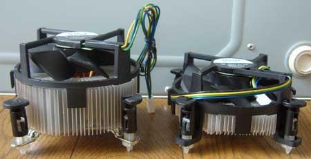 左:E6600付属 右:Q8400付属