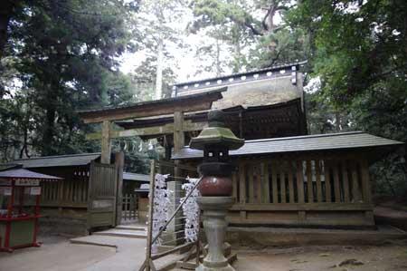 鹿島神宮 奥の院