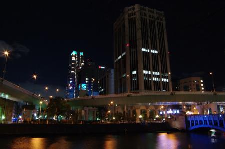 阪神高速土佐堀ランプ