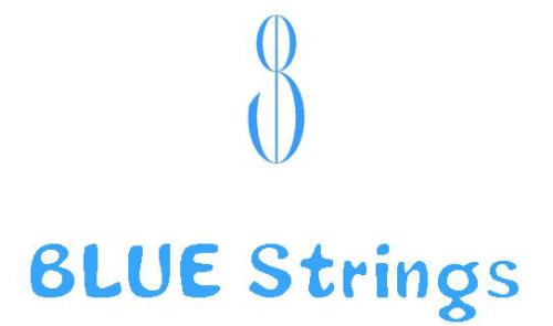 BLUE Strings ロゴ