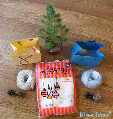 簡単クリスマスツリーの材料