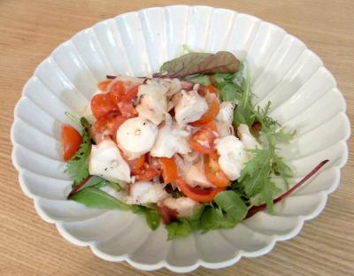 タコとトマトと玉ねぎのマリネ 2009.10.13