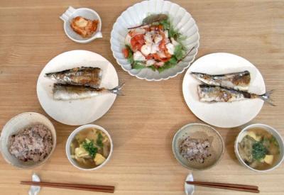 秋刀魚とタコ 2009.10.13