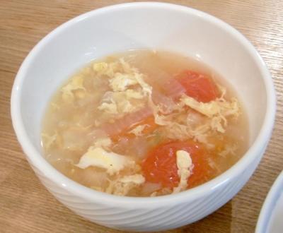 トマトと玉子のスープ 2009.10.19
