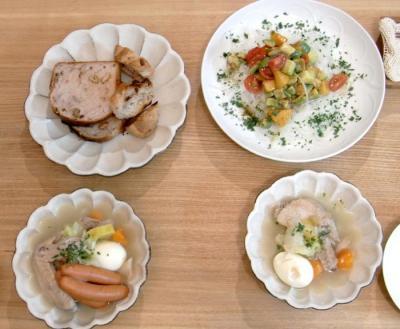 ポトフとパンとサラダ 2009.10.20