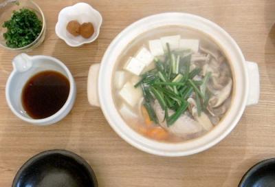 鶏出汁鍋 豆腐と野菜たっぷり 2009.10.24