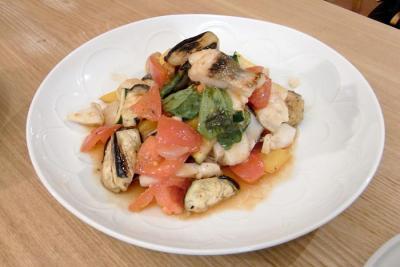 鱈と焼き野菜のサラダ!2009.10.30