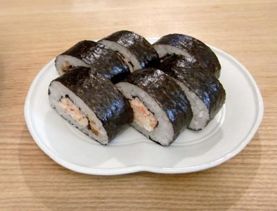 太巻きカニ寿司 2009.10.30