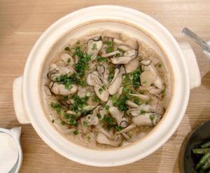 牡蠣の炊込みご飯。2009.10.31