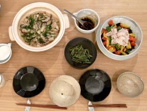 土鍋活躍、やっぱり炊込みご飯。2009.10.31
