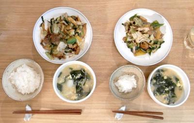 回鍋肉定食!2009.11.1