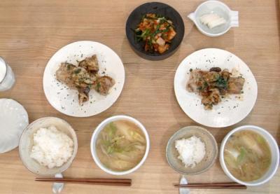 洋食ゴハン!豚肉のソテー 2009.11.3