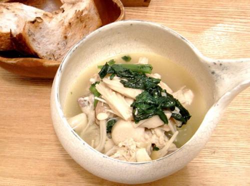 お肌つるつる!鶏肉のスープ 2009.11.29