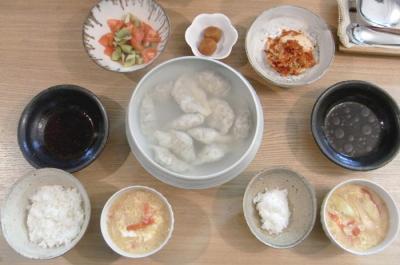 有りもの夕ご飯!2010.1.5