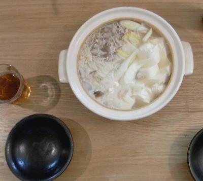 湯豆腐鍋 2010.1.6
