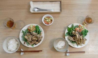 味噌生姜焼き 2010.1.7