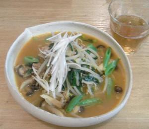 野菜たっぷり!味噌ラ~メン。2010.1.14
