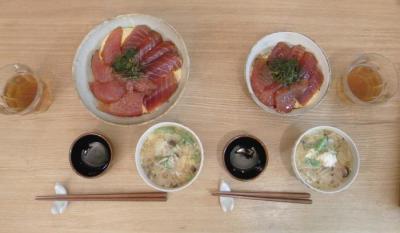 マグロ丼 2010.1.15