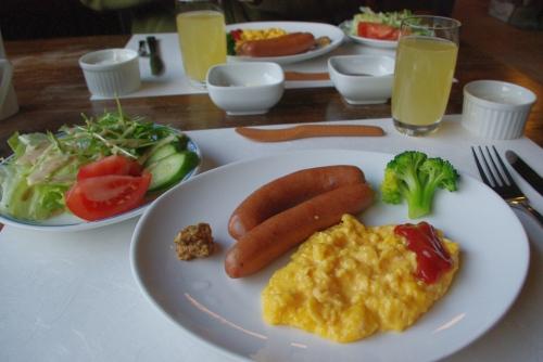 091123朝のお食事