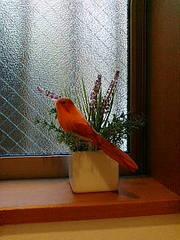 トイレの消臭グリーンと鳥