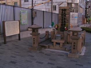 大正橋東にある川口高潮被害の碑PICT0028