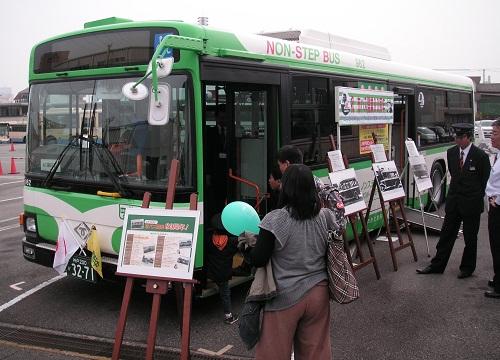 バス車両展示