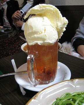 紅茶フロート