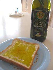 オリーブオイル パン