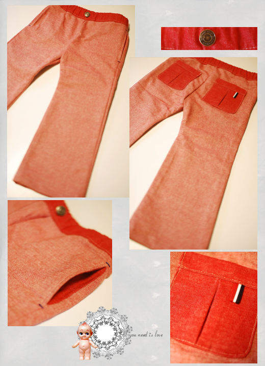 09 赤パンツ