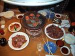 肉と酒のコラボ