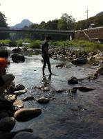川もちょうどいい温度